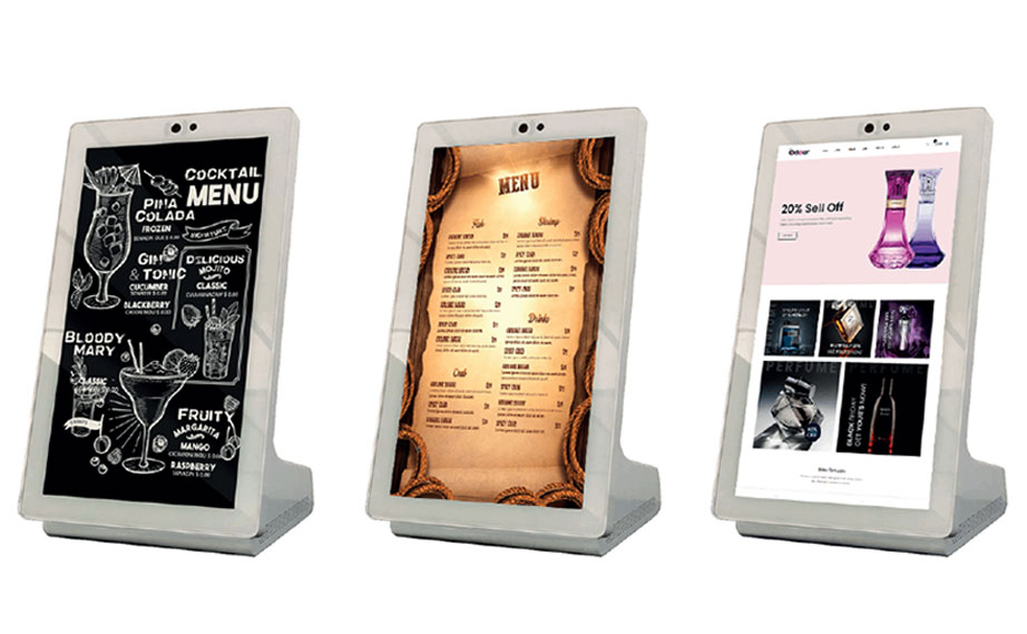 "SELF ORDER KIOSK 15.6"" INTERACTIVE TABLE TABLET"